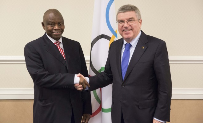 NOC President, Habu Gumel was appointed as a member of the Evaluation Commission of IOC [Image: IOC]