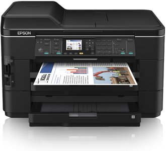 Print on the go from your smartphone or computer Epson WF-7525 Driver Downloads