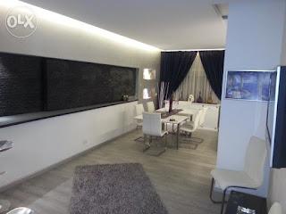 شقة مفروشة للايجار بالتجمع الخامس 140م بالشويفات على الجولف مباشرتا
