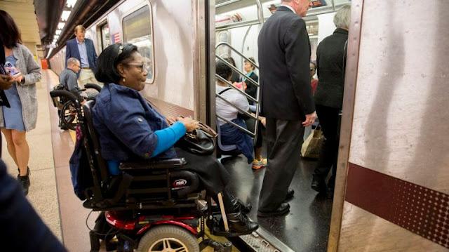 Transporte para deficientes físicos em Nova York