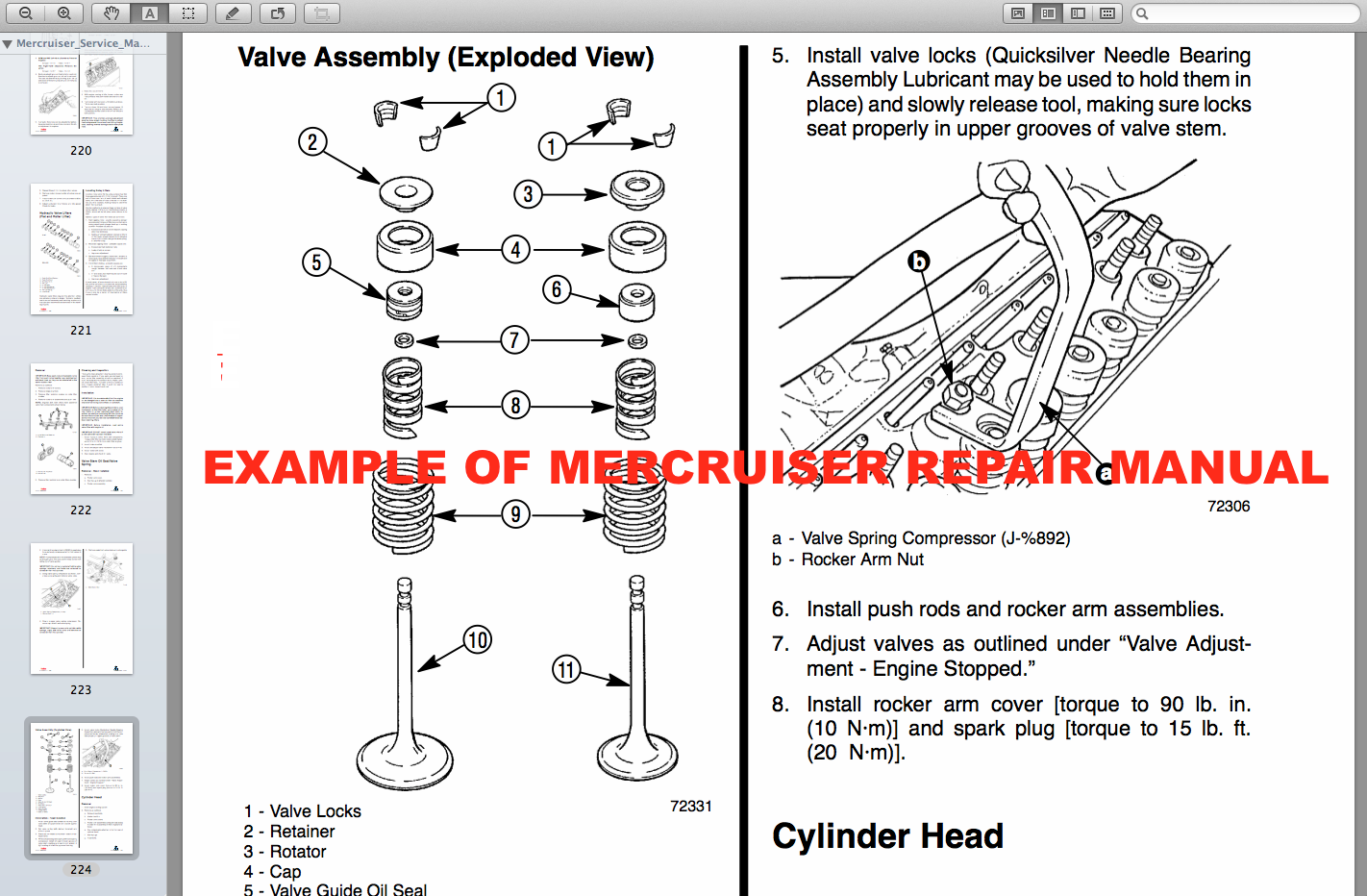 Download Mercruiser Repair Manuals Download Mercruiser Factory Service Manual Models