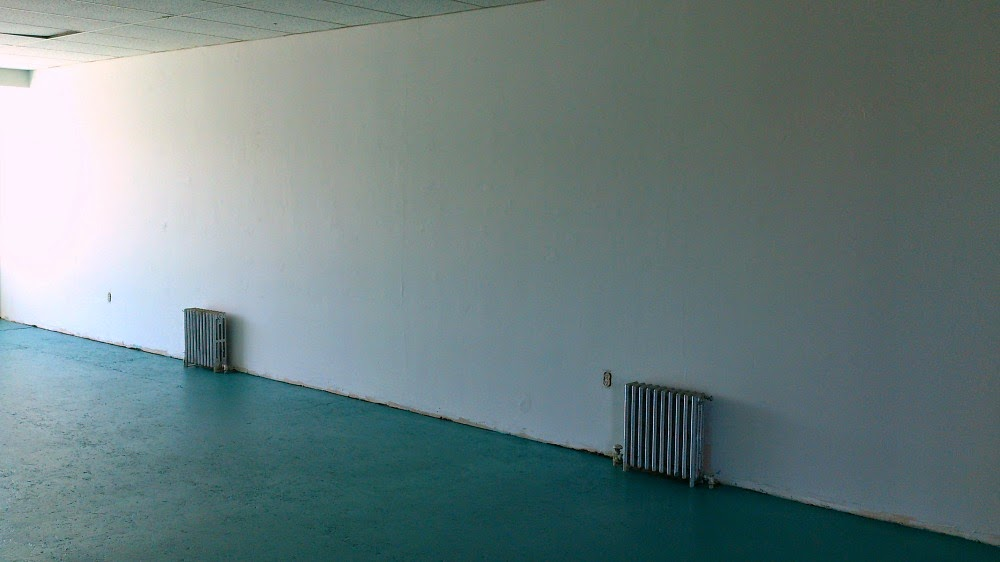 Teal Painted Floors