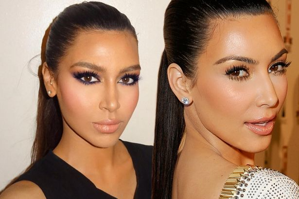 Meet Kim Kardashian's DOUBLE
