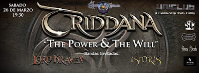 triddana en vivo the power and the will