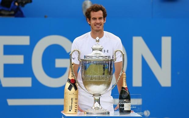 Under Armour lo apuesta a todo a Murray en Wimbledon