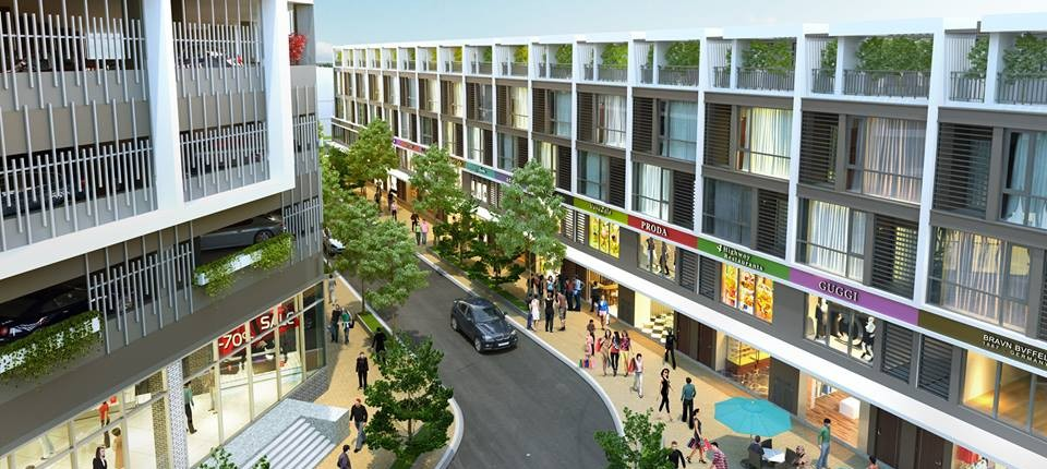 Nhà phố thương mại Shophouse The Two Gamuda
