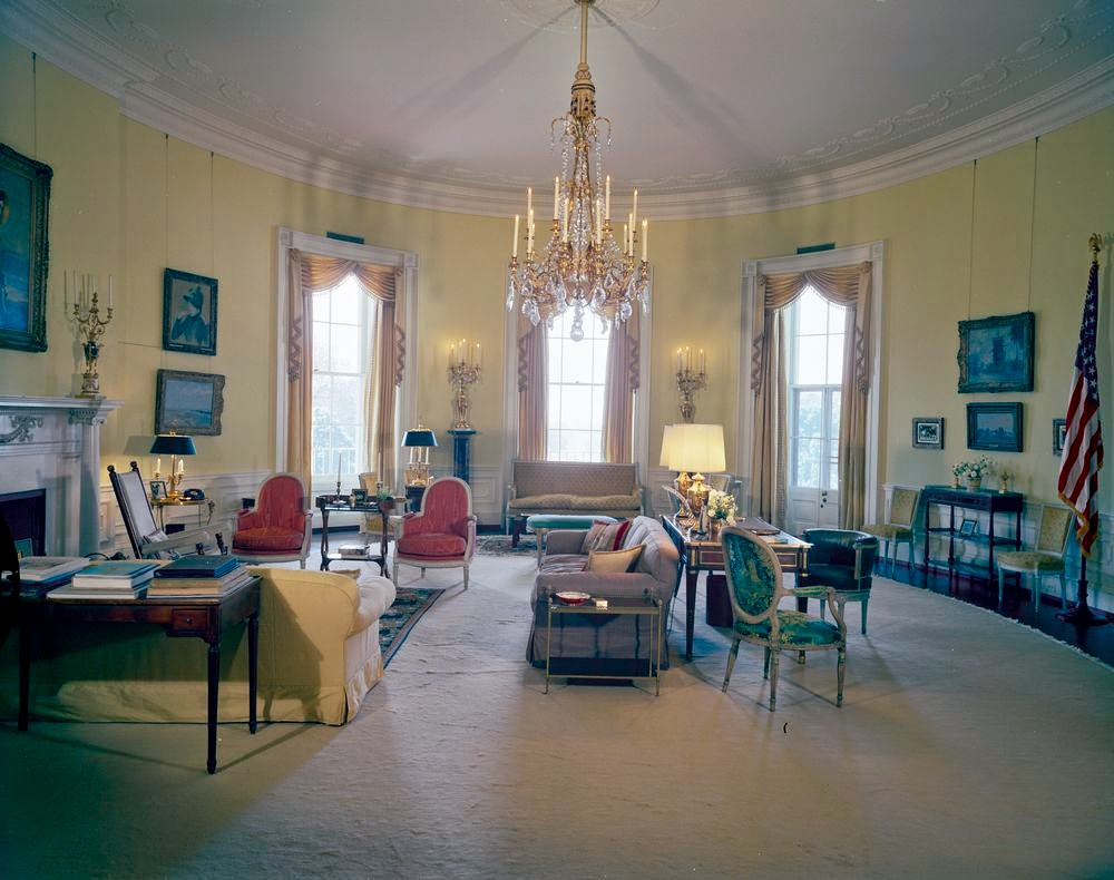 View Of President John F Kennedys Rooms White House In