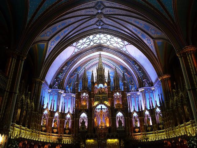 basilique Notre Dame de Montréal Montréal Québec