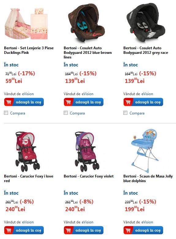 Vedeti la EMAG produsele pentru copii