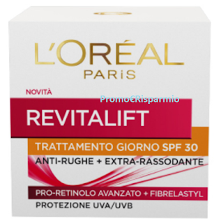 Logo Diventa tester Revitalift SPF 30 L'Oreal Paris