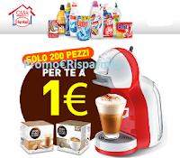 Logo Solo 200 pezzi ! Offerta Flash! Macchina del caffè Mini Me + 2 confezioni di capsule solo 1€!