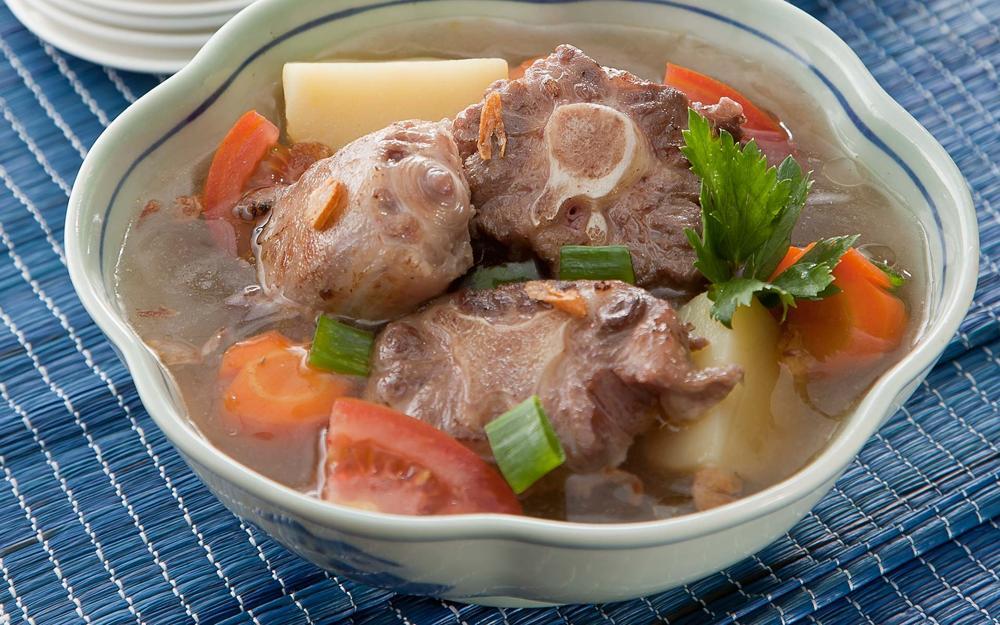 Hasil gambar untuk Sup daging tabur dadar