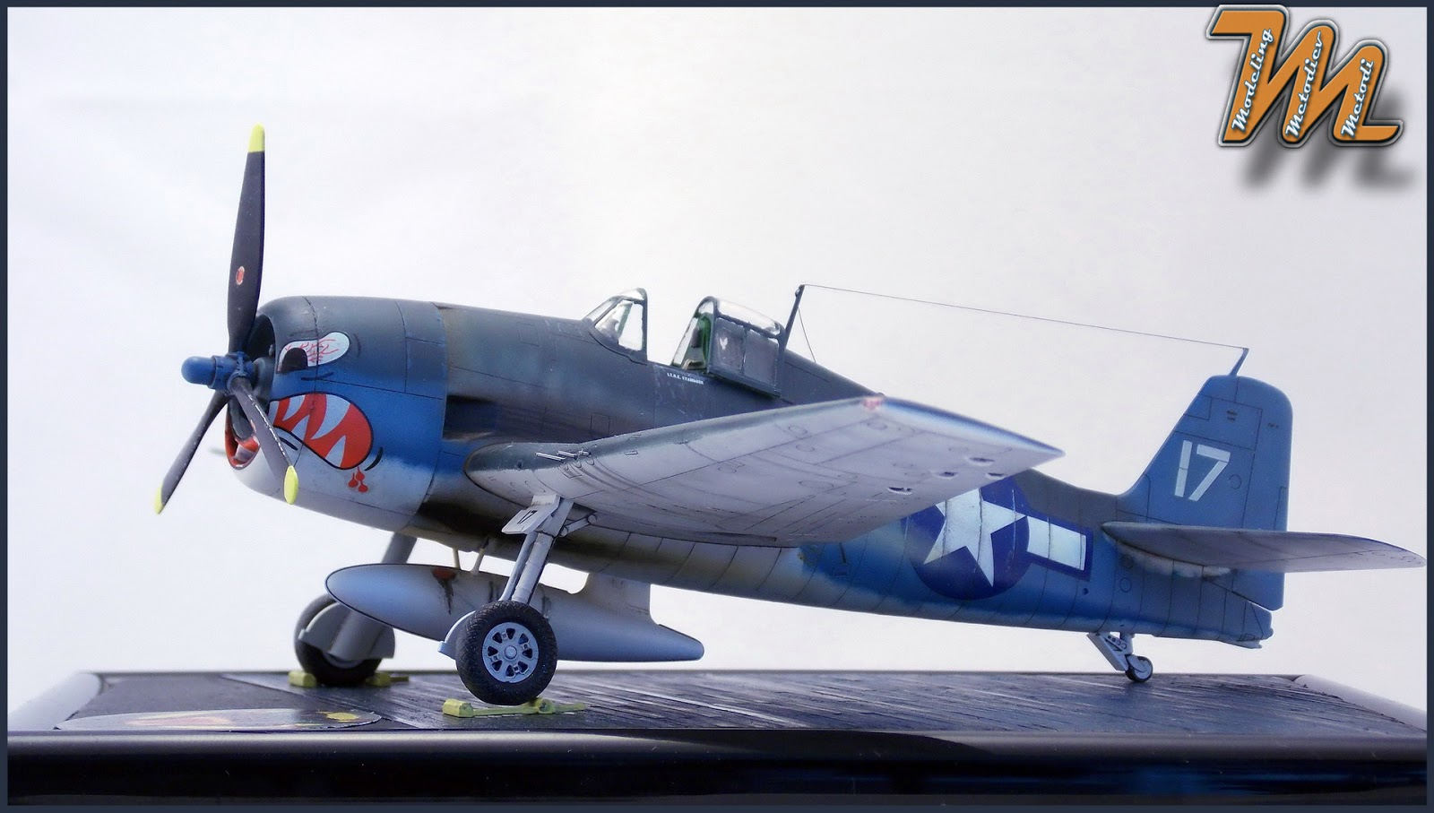 F6F-3, Hellcat, VF-2, scale model