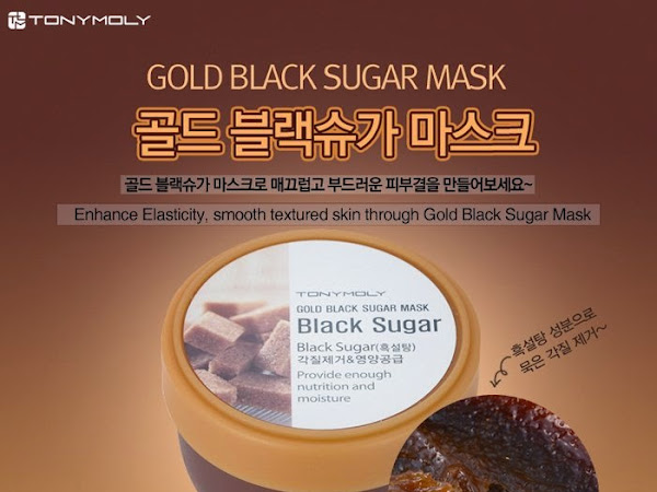 [Review] Tony Moly Gold Black Sugar Mask