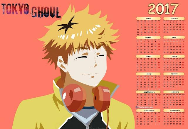 2017 anime calendar