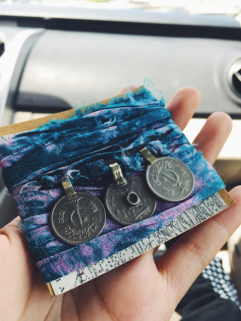iamnotsocool, wrap bracelet with coins, lauren banawa, tampa indie flea market