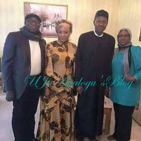 JUST IN: New Photos Of Buhari, Aisha, Kayode Fayemi In London Emerge