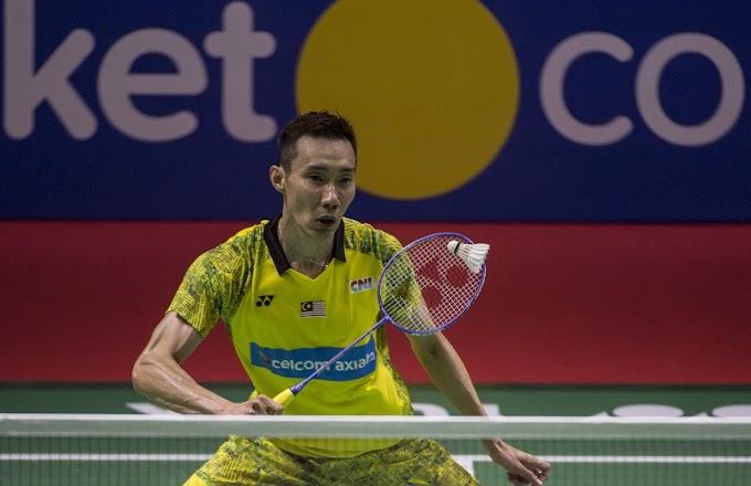 Indonesia Open 2018 : Dato Lee Chong Wei terkandas di separuh akhir