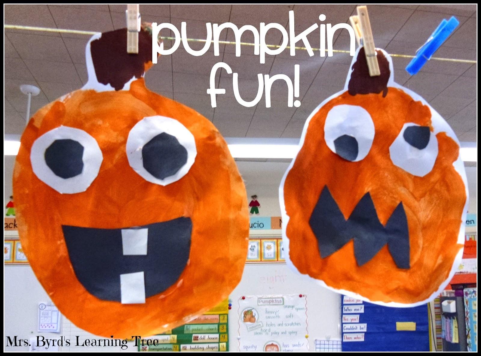 Mrs Byrd S Learning Tree It S Pumpkin Time