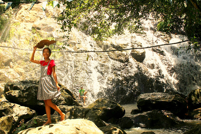 binuang waterfalls in camarines norte
