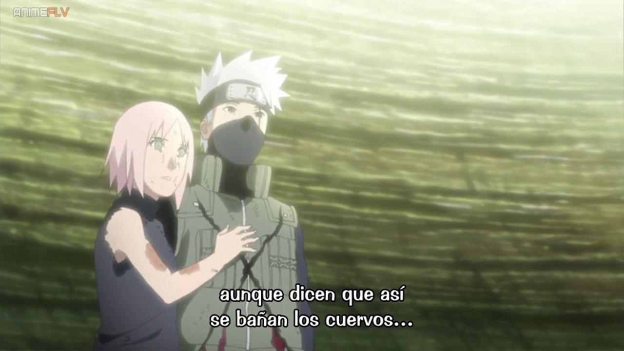 Naruto Shippuden cap 474 Sub Español