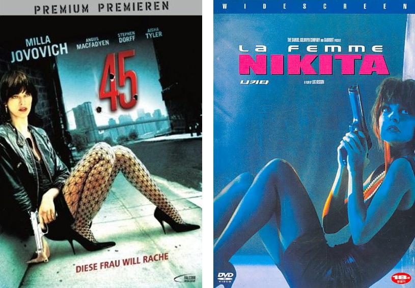 Bob Canada's BlogWorld: DVD Doppelgangers:  45 vs  La Femme