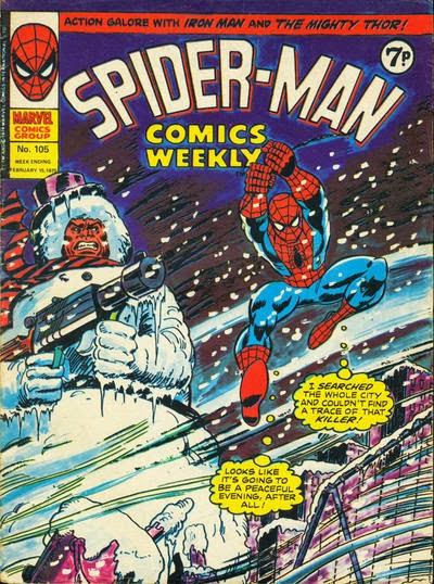 Spider-Man Comics Weekly #105, the Schemer