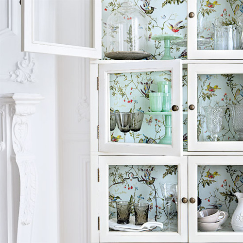 Cosas de palmichula forrar muebles con papel pintado - Como forrar un armario por dentro ...