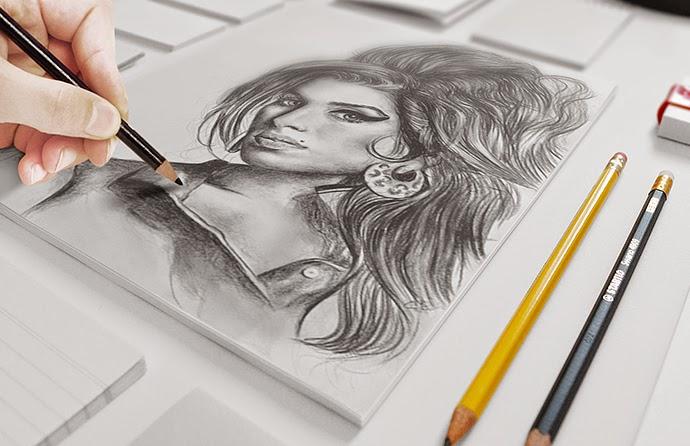 Sketch Mock-up PSD