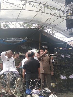 Sidak Pasar Burung Empunala, Wawalikota Suyitno Tanggapi Uneg-Uneg Pedagang