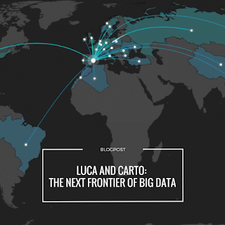 LUCA and CARTO to work together bringing location to the next frontier of Big Data