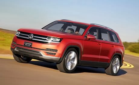 Breaking News Volkswagen Confirms Midsize Suv Confirmed For America