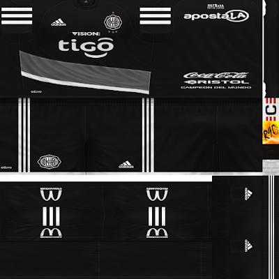 PES 6 Kits Club Olimpia Season 2017/2018 by Rodry90 Kitmaker