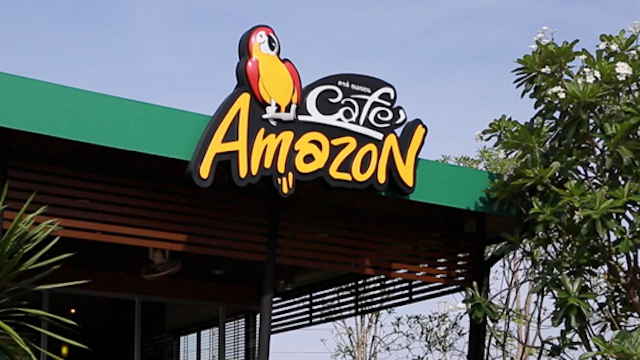 Café Amazon au Cambodge