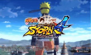 Download APK Mod Naruto Senki Ultimate Ninja Storm 4i