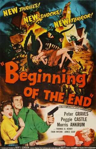 Poster - Beginning of the End (1957)