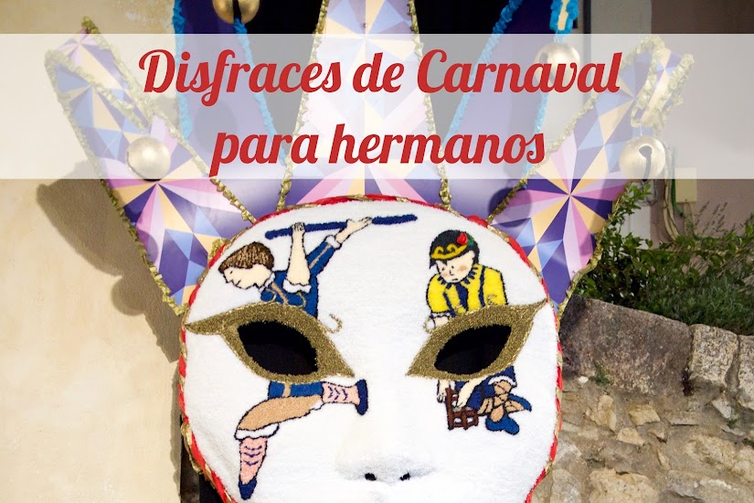 Ideas de disfraces de carnaval para hermanos