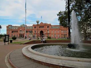 Casa Rosada in Plaza de Mayo Buenos Aires Argentina