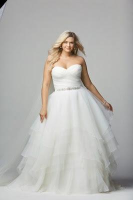 Gaun Pengantin Dress Anggun Putih