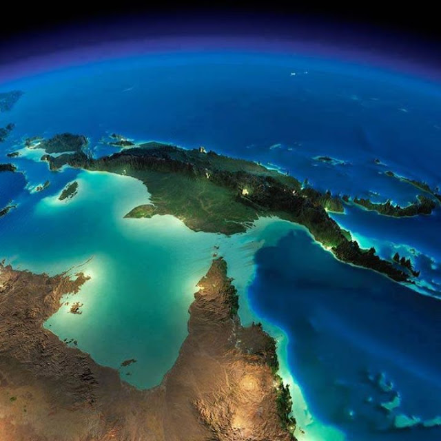 Space: Overhead view of earth !! Awesome