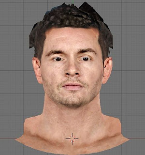 NBA 2K13 J.J. Redick Cyberface Patch