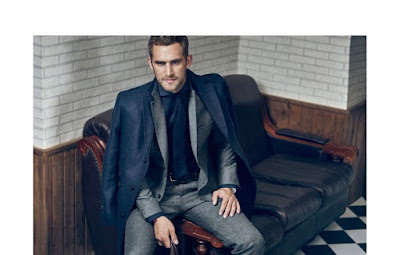 Massimo Dutti, hipster, Fall 2015, menswear, moda masculina, Made in Spain, Henrik Fallenius, Will Chalker, Suits and Shirts, lookbook, tailoring,