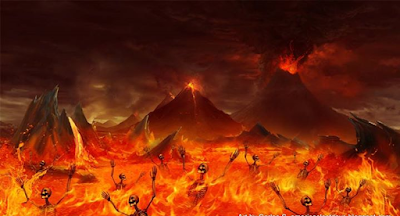 the burning hell and lake of fire