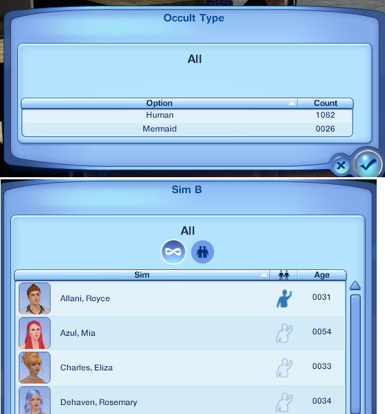 My Sims 3 Blog: Never See Any Mermaids?