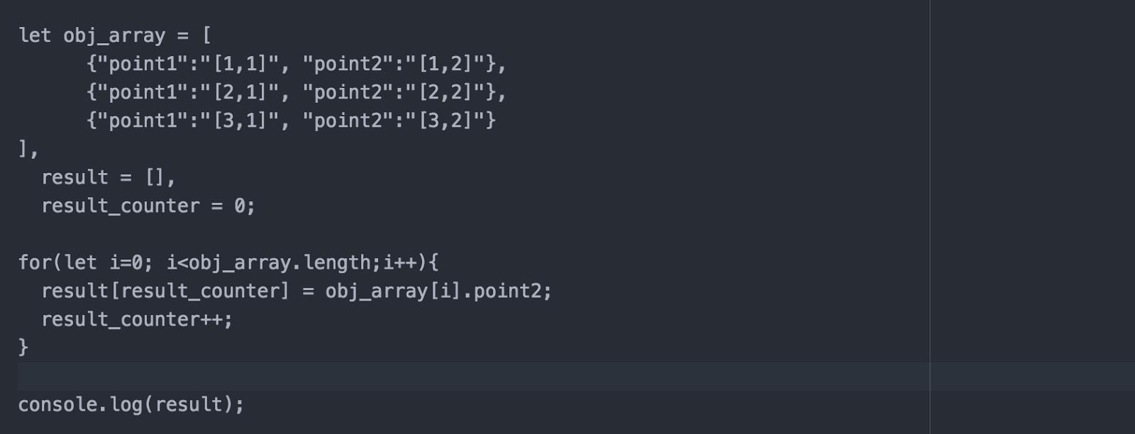 ES6] จัดการ Object Array ด้วย forEach เวิคกว่า for