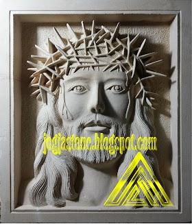 Relief Yesus Mahkota Berduri