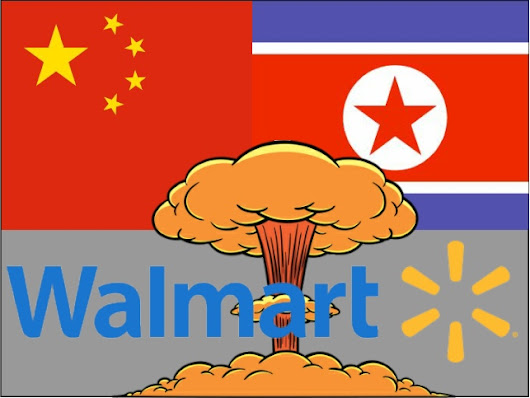 Allies: N. Korea, China, Walmart