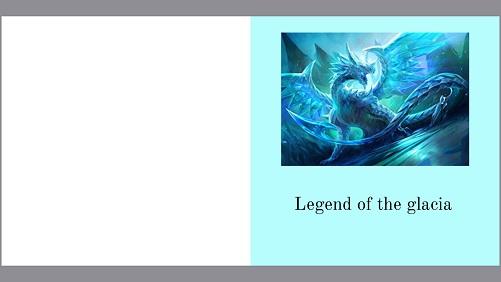 Legend of the glacia book cover