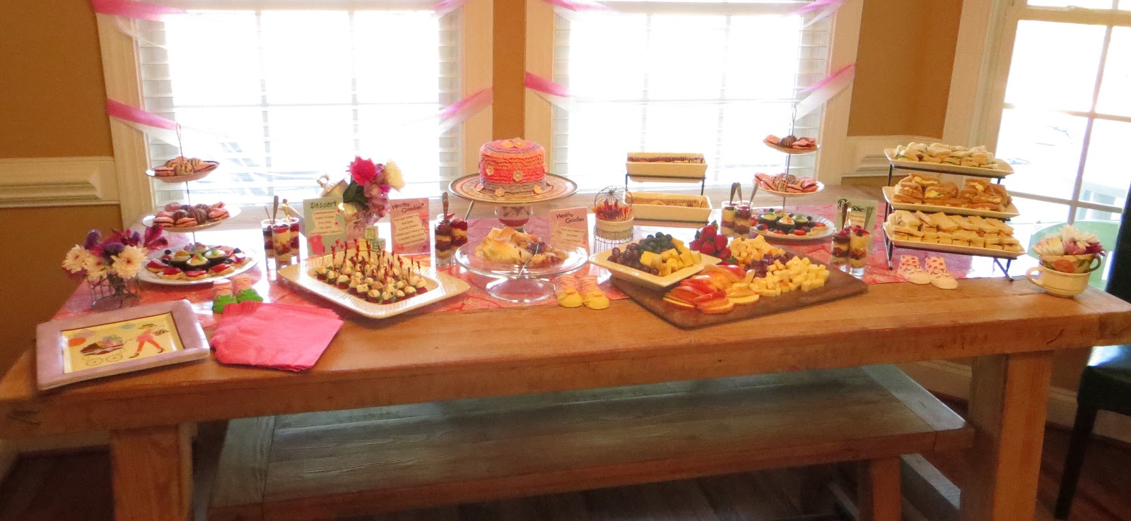Goodies By Design Tea Party Baby Shower