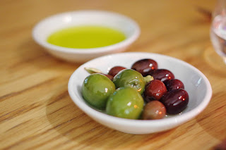 Complementary Olives and Bread image